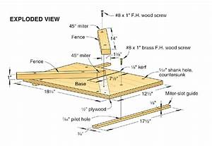 Tablesaw Miter Jig WOOD Magazin Shop jigs Pinterest