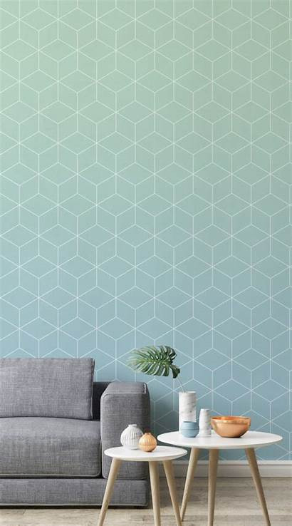 Living Modern Murals Geometric Stylish Designs Using