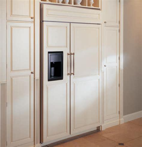 ge monogram  built  side  side refrigerator  dispenser zisbdr ge appliances