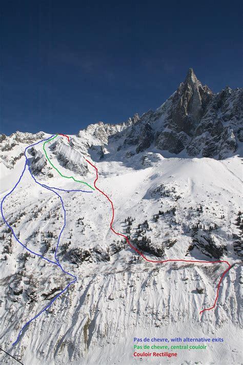 Pas De Chevre In Chamonix  Alpine Exposure