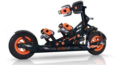 designapplause skike vx twin roller skis