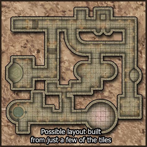 Making 3d Dungeon Tiles by Heroic Maps Modular Kit Dungeon Bols Gamewire