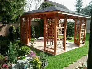 Holzpavillon Selber Bauen : holzpavillon gartenlaube 300 x 300 cm 350 x 350 cm 1 neu ebay ~ Orissabook.com Haus und Dekorationen