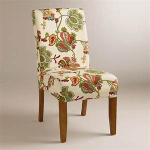 Leopold floral anna slipcover world market for Outdoor furniture covers world market