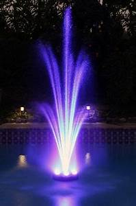 Color Changing Floating Pool Lights 360 Led Color Changing Floating Water Fountain Kit In 2020