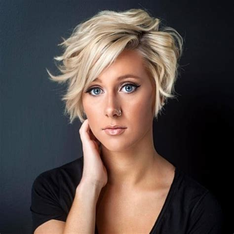 I will probably never color my hair again but included a few with blonde color for others who may feel differently. 2021 Short Haircuts For Women - 20+   Hairstyles   Haircuts