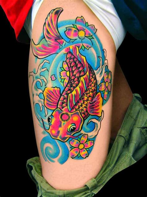 bright color tattoos designs with bright colors