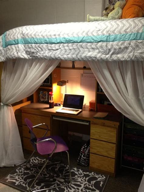 College Dorm Room Loft Beds  Woodworking Projects & Plans