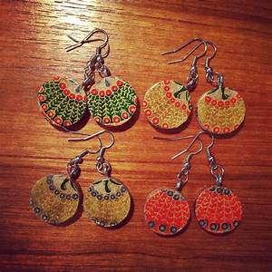 Upcycled Wine Cork Jewelry · How To Make A Dangle Earring