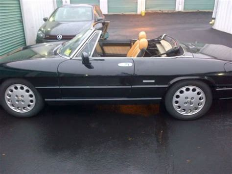how to learn all about cars 1993 alfa romeo 164 on board diagnostic system sell used 1993 alfa romeo spider veloce convertible 2 0l rare hardtop low miles trades in