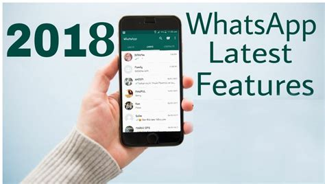 8 upcoming new whatsapp features updated in 2018
