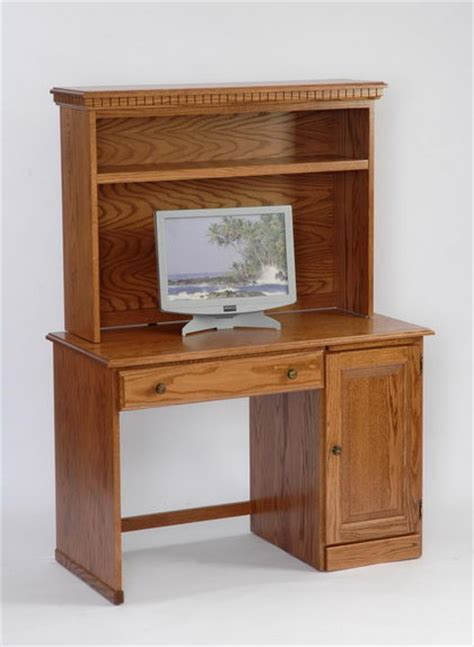small student desk with hutch amish student computer desk with optional hutch top