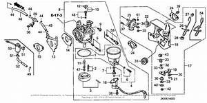 Honda Engines Gx240k1 Eds2  A Engine  Jpn  Vin  Gc04