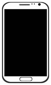 smart phone outline - /telephone/cell_phones/smartphone_BW ...
