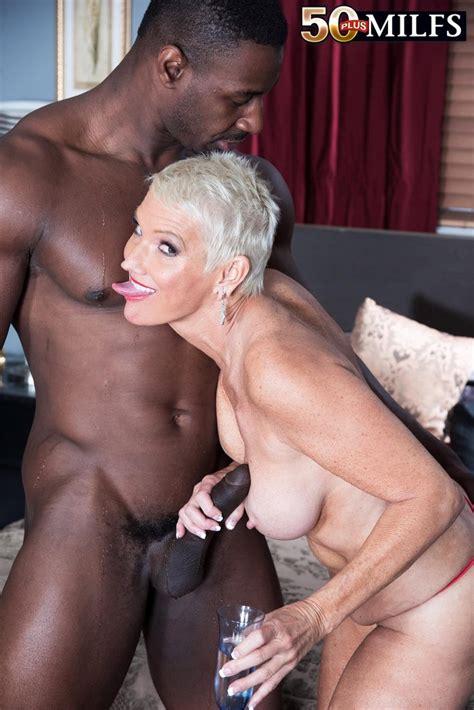 Blonde Milf Lexy Cougar Fucking Black Stud Of