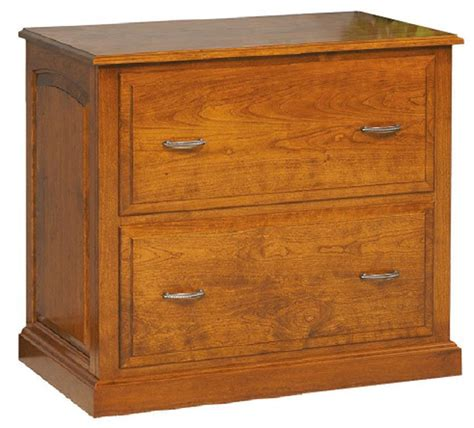solid wood lateral filing cabinet  dutchcrafters amish