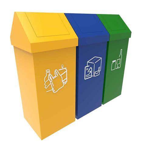 poubelle bureau design umea poubelle recyclage modulaire 50 litres