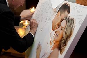canvas guestbook what a cute awesome idea then it can With wedding photo canvas ideas