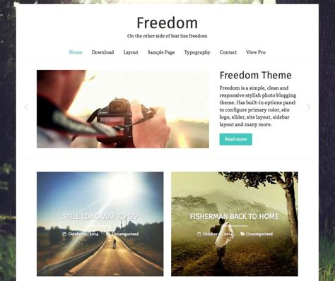 personal blog wordpress themes templates
