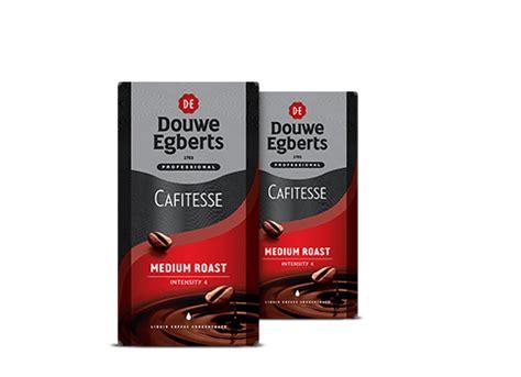 espresso kopjes douwe egberts cafitesse koffie medium roast
