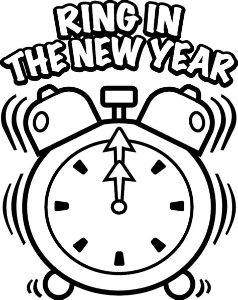 year coloring pages  year celebration coloring