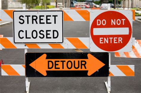 signs signals  barricades