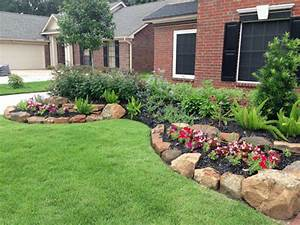 Landscape: simple front yard landscaping ideas How To