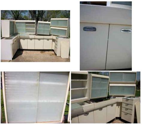 Vintage Steel Kitchen Cabinets for Sale