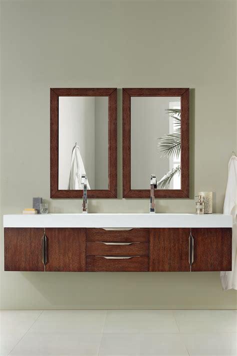 floating vanity glamorous bathroom decor floating