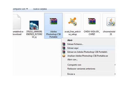 descargar photoshop cs6 portable gratis en español completo