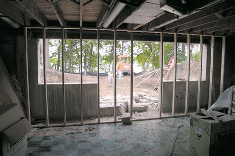 job log adding  walkout basement jlc  basement sitework coring  cutting