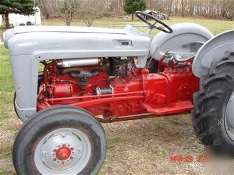 ford  series tractor