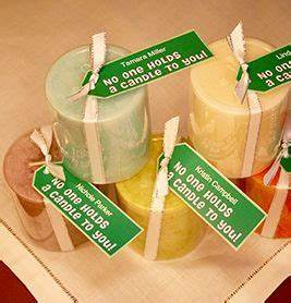 Candle Tags 10 Quick and Easy Volunteer Gifts