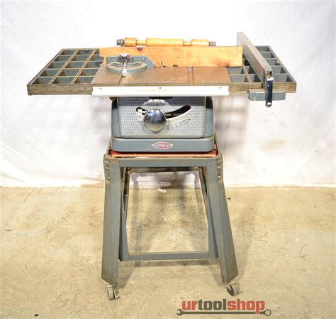 "Vintage Sears Craftsman 10323834 8"" Tilting Arbor Bench"