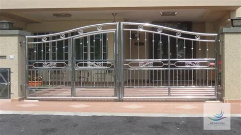 stainless steel gate design ss gate design  front
