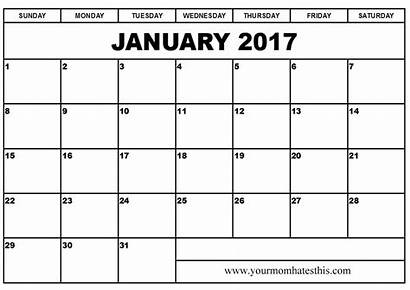 Calendar Transparent Template January Word Calendars Clip