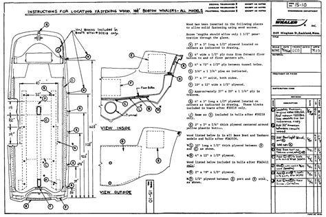 677 Beam Wiring Diagram by Continuouswave Whaler Reference 16 17 Foot