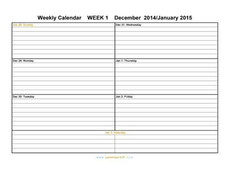 blank weekly calendar template printable weekly calendars print blank calendars