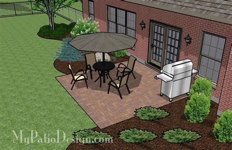 Diy Small Brick Patio Design