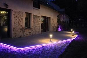 Eclairage Exterieur Piscine : eclairage exterieur terrasse piscine 26 eclairage ~ Premium-room.com Idées de Décoration