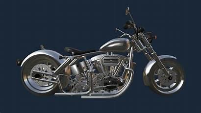 Mechanic Motorbike Garage Simulator Simulation Games Chopper