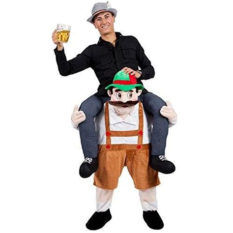 german beer guy carry  costume shut     money