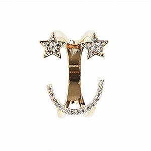 Starry Eyed Surprise Emoji Ring – Experimental Jewellery Club