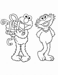 Elmo Birthday   Free Coloring Pages on Art Coloring Pages