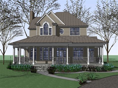 House Plans Wrap Around Porch Farm House Plans With Wrap Around Porches Fashioned