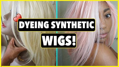 How To Dye Synthetic Wigs!!!!