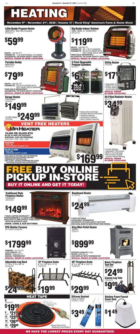 rural king early black friday ad