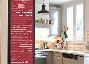 Deco Mur Cuisine : d coration murale cuisine rouge ~ Teatrodelosmanantiales.com Idées de Décoration