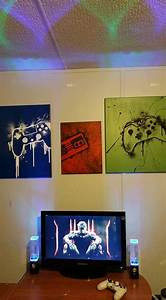 25 best ideas about gamer bedroom on pinterest gamer With what kind of paint to use on kitchen cabinets for ready to hang canvas wall art