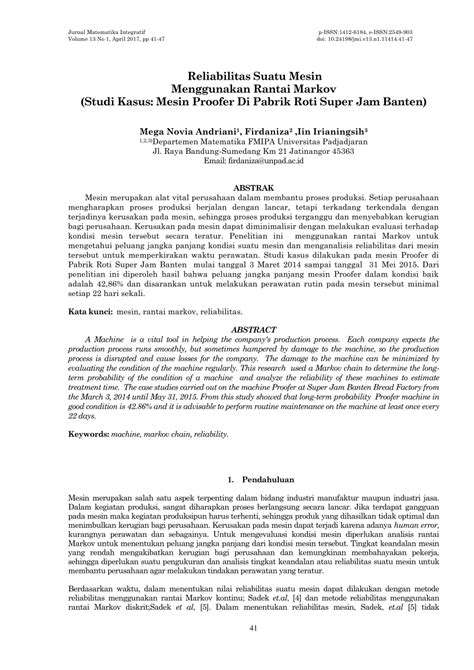 JURNAL RANTAI MARKOV PDF